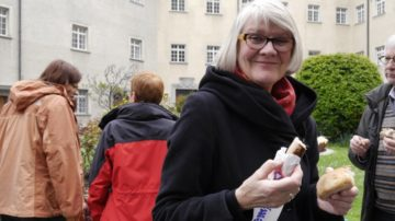 Das Frauenthema liegt Gabriele Tietze Roos am Herzen. So war sie auch an der Startveranstaltung von «Kirche mit* den Frauen» in St. Gallen.   © Anne Burgmer