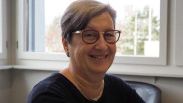 Seit sechs Jahren gibt Edith Amstutz Heilpädagogischen Religionsunterritcht an der Heilpädagogischen Schule in Döttingen. | © Anne Burgmer