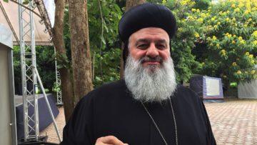 Ignatius Aphrem II., Patriarch der syrisch-orthodoxen Kirche in Damaskus, ist umstritten – weil er stramm an der Seite des syrischen Diktators Assad steht. | © Raphael Rauch