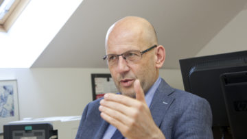 Auf den ersten Blick gehe es nicht um sehr viel Geld, meint RKZ-Generalsekretär Daniel Kosch, und ergänzt dann: «Die Mitglieder der RKZ-Finanzkommission beurteilen die Umstände deutlich kritischer». | © Roger Wehrli