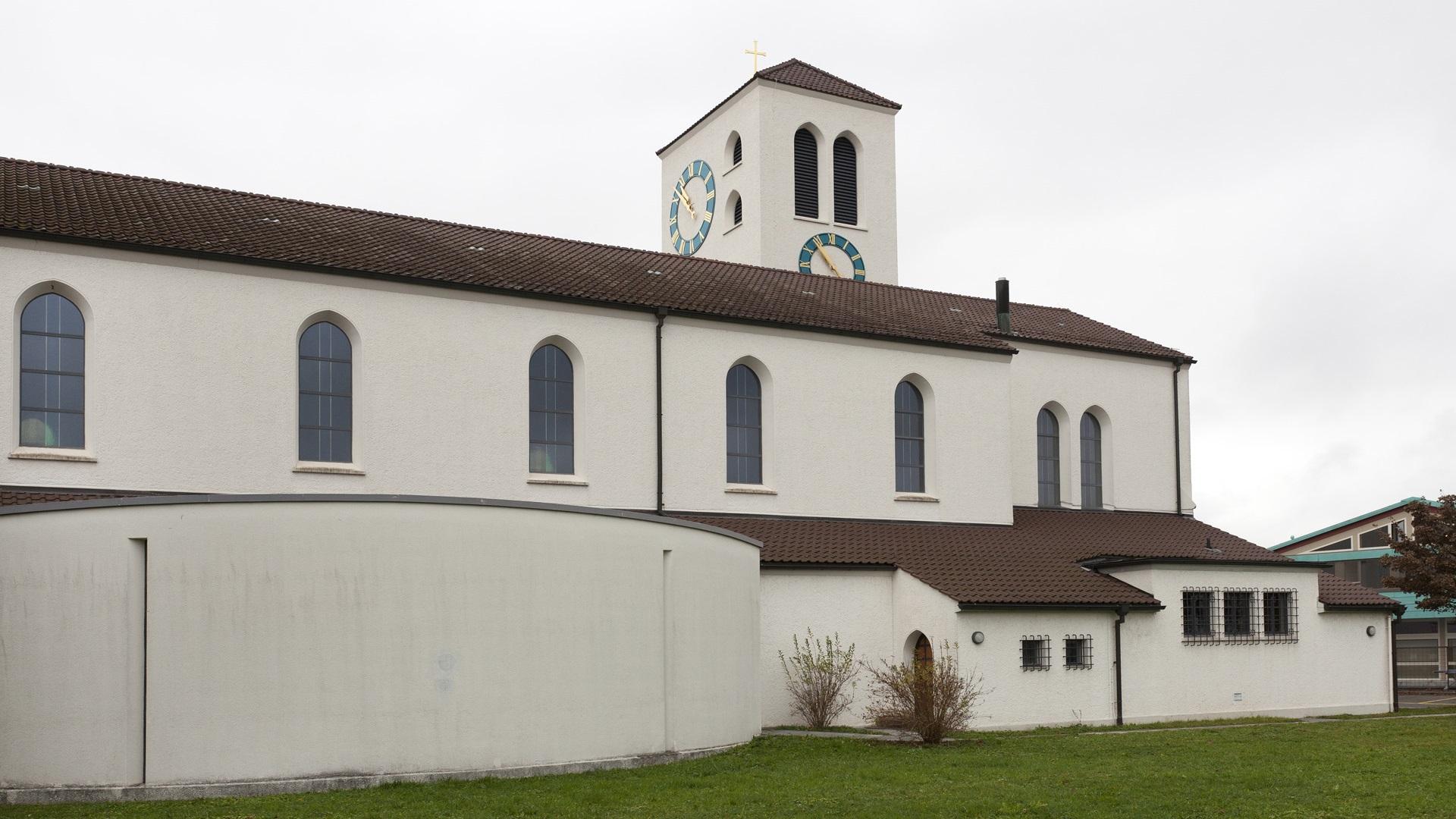 Lenzburg, Herz Jesu | © Roger Wehrli