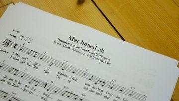 Das Pastoralraumlied, komponiert von Kirchenmusiker Thomas A. Friedrich. | © Marie-Christine Andres