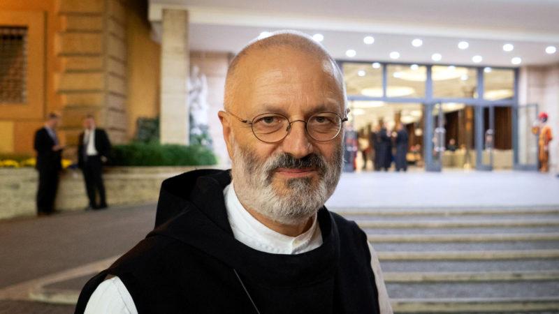 Mauro-Giuseppe Lepori nimmt als Schweizer Generaloberer des Zisterzienserordens an der Jugendsynode in Rom teil. | © Pierre Pistoletti