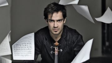 Gewinner des Tschaikowsky-Musikpreises: Marc Bouchkov spielt am Donnerstag, 7. November, in Aarau. | zvg