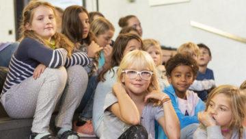 Viele Kinder schätzen am Musicalprojekt das Zusammensein mit anderen Kindern. | © Werner Rolli