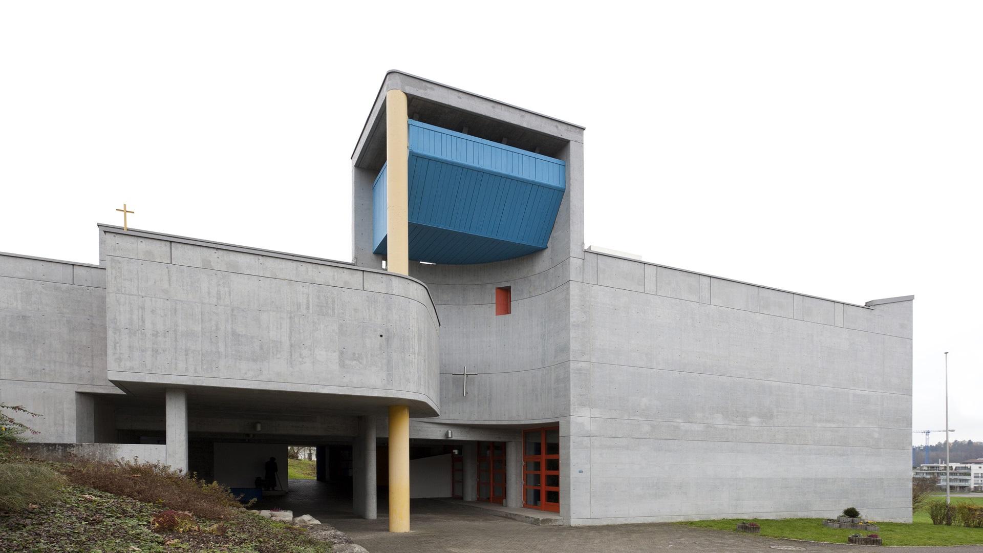 Niederrohrdorf, Kirchenzentrum Gut Hirt | © Roger Wehrli
