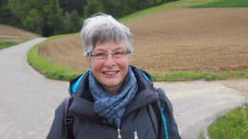 Hat noch keine Kapellenwanderung verpasst: Anna Meier aus Oeschgen. | © Andreas C. Müller