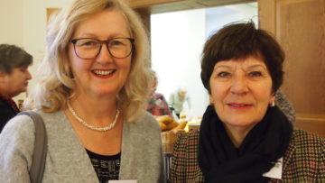 Ebenfalls neue Synodale: Beatrice Eglin und Theres Münch aus Baden-Ennetbaden. | © Andreas C. Müller