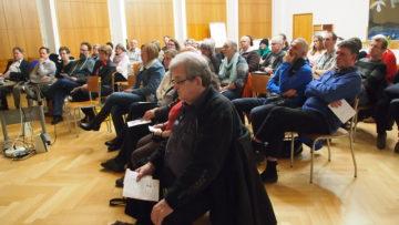 Über 50 Sympathisantinnen und Sympathisanten kamen zur Vereinsgründung. | © Andreas C. Müller