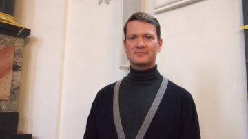 Tobias Wunderli, Leiter des «Ensemble de tempore», welches in Sarmenstorf zur Fastenzeit Pergolesis «Stabat Mater» zur Aufführung bringt. | © Andreas C. Müller