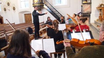 In Sarmenstorf wurde in der Fastenzeit Pergolesis «Stabat Mater» aufgeführt - ein Stück, das eigentlich im September gespielt werden müsste. | © Andreas C. Müller