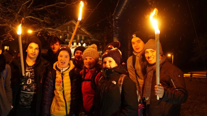 An der 40. Auflage des Ranftreffens vom  vergangenen Wochenende nahmen über 1000 Personen teil. Aus dem Aargau waren mehrere Gruppen vertreten - unter anderem aus dem Fricktal. | © Andreas C. Müller