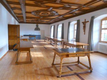 Das frisch renovierte Refektorium, wo die Schwestern ihre Mahlzeiten einnehmen. | © Anton Schweiwiller