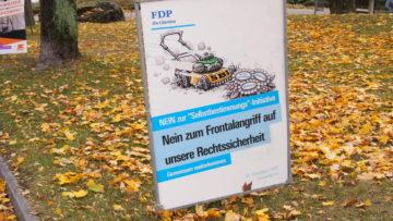 Die FDP warnt mit markigem Bild vor wirtschaftlichem Schaden. | © Andreas C. Müller
