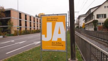 Überrascht mit einer unaufgeregten Kampagne: Die SVP. | © Andreas C. Müller