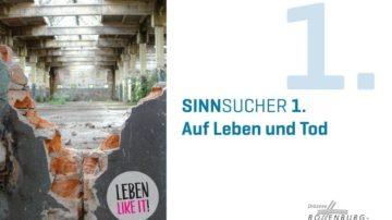 Der erste Umschlag des Sinnsucher-Projekts befasste sich mit Leben und Tod. | ©  www.pastorale-innovationen.de