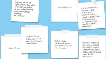 Moderationskarten helfen beim Gestalten des Austausches. | © www.pastorale-innovationen.de