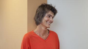Seelsorgerin Karin Klemm half im Jahr 2015 mit, das Musikalische Fenster im Kantonsspital Baden zu gründen. Inzwischen ist das Projekt als Verein organisiert. | © Roger Wehrli