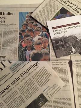 Den täglichen Nachrichten über Tod und Terror begegnen wir oft hilflos. |© mca