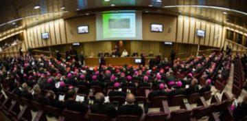 An der Synode im Oktober 2018 in Rom nehmen 250 bis 300 Bischöfe aus der ganzen Welt teil. Die Jugendlichen haben ihnen mit dem Dokument der Vorsynode eine volle Agenda beschert. Darunter auch einige kontroverse Themen wie den Umgang mit Homosexualität und die Aufarbeitung sexuellen Missbrauchs. | © Mazur/catholicnews.org.uk