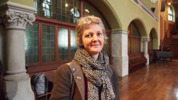 Kam extra aus Frankfurt nach Zürich: Pfarrerin Natalie Ende