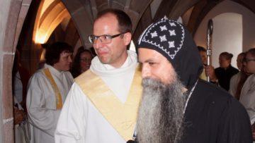 Pater Isidoros von der koptisch-orthodoxen Kirche in Dietlikon feiert regelmässig den Verenatag mit. | © Marie-Christine Andres