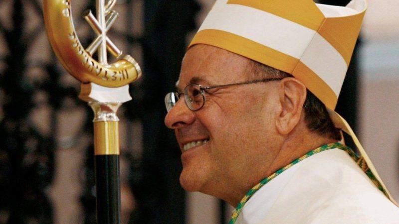 Am Freitag, den 21. April 2017, hatte der Churer Bischof Vitus Huonder in Rom seinen Rücktritt eingericht. Der Papst hat nun dessen Amtszeit bis 2019 verlängert. | © Steffen Schmidt