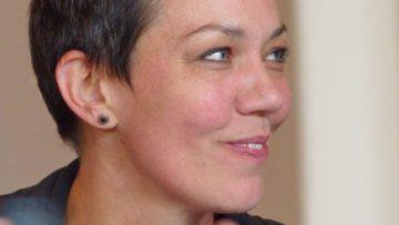 Monika Lüscher von den Vermittlungsstellen Region Aarau, Schottland und Zofingen. | © Anne Burgmer