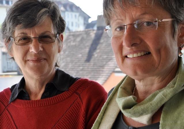 Jutta Bossard und Caroline Küng. | © Carmen Frei