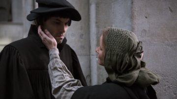 Gelungen gestaltet: Die Beziehung zwischen Zwingli (Max Simonischek) und Anna Reinhart (Sara Sophia Meyer). | © Ascot Elite