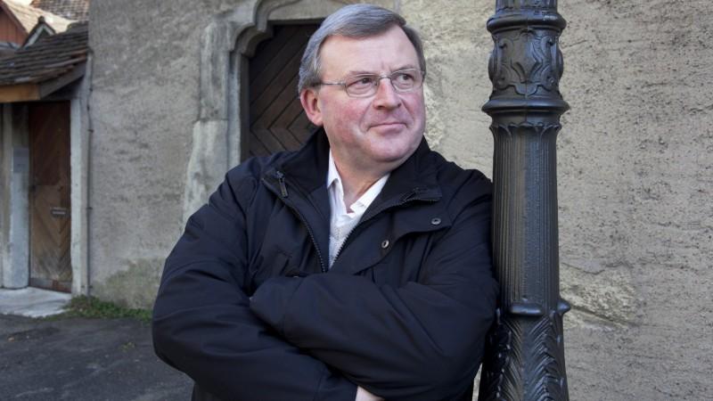 Entschlossen und differenziert, so sieht Josef Stübi, einer von drei Domherren des Standes Aargau, seiner Aufgabe entgegen. | © Roger Wehrli
