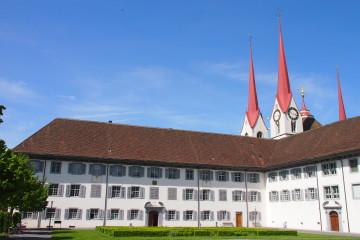 Tagungsort für die Mitglieder der RKZ am 26. und 27. Juni 2015: Das Kloster Muri.   © Andreas C. Müller