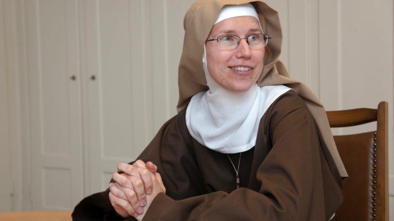 Schwester Maria Margareta: «Mein Herz wurde immer wieder angesprochen und ich fühlte so etwas wie ein Verliebtsein.»   © Roger Wehrli