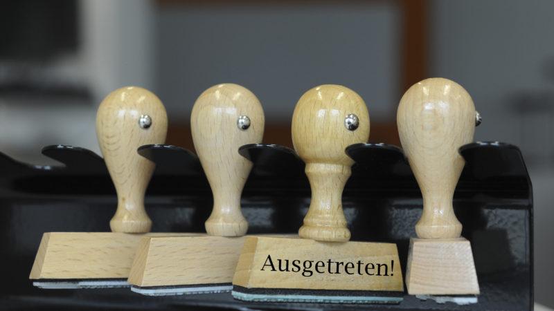 Wie die Katholiken verzeichneten auch die Reformierten im Aargau im vergangenen Jahr eine Zunahme an Austritten. | © kna-bild
