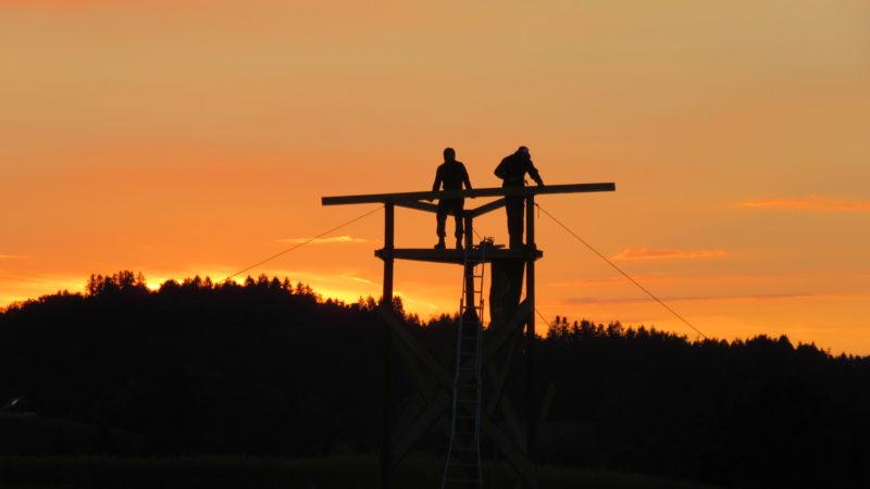 Jeder einzelne Kirchgänger sei mitverantwortlich, den Weg, den die Jugendsynode eingeschlagen hat, weiterzugehen. Im Bild Jungwacht-Blauring-Leiter im Sommerlager. | © zvg