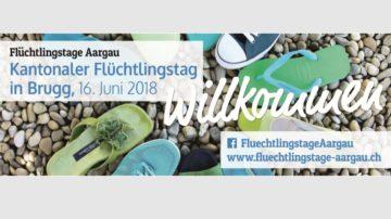 Einmal im Jahr wird im Kanton der Flüchtlingstag begangen. Der zentrale Anlass ist 2018 in Brugg. Mehr Informationen finden Sie am Ende des Beitrags. | © screenshot