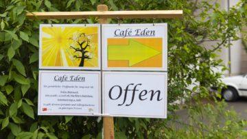 Neben dem Café Eden gibt es weitere Angebote. Zum Beispiel das Repair Café, in dem altes und kaputtes geflickt und zu neuem Leben erweckt wird. | © Werner Rolli