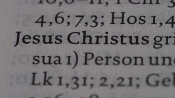 Über die historische Person Jesus von Nazareth ist nur wenig bekannt. Ausserbiblische Quellen gibt es eher zu der jungen christlichen Bewegung.   © Anne Burgmer