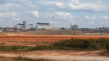 Die Kupfermine Kamoto Copper Company (KCC) in der Nähe der kongolesischen Stadt Kolwezi gehört zum Schweizer Rohstoffkonzern Glencore. | © Fastenopfer