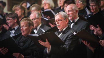 Für die Matthäus-Passion von Johann Sebastian Bach braucht es zwei Chöre. | © Aargauer Kantorei