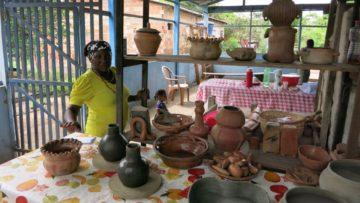 Quilombolas sind Menschen, die aufgrund der Sklaverei nach Brasilien kamen. Jene, die sich seinerzeit aus der Sklaverei befreien konnten, sind ins Amazonasgebiet geflüchtet und leben seither dort. | © Tobias Buser, Fastenopfer