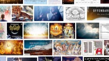Ergebnisseite der Bildersuche zum Begriff Offenbarung bei Google. | © screenshot