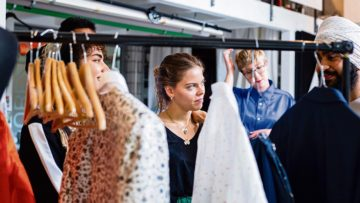«Wie beeinflusst meine Religion meinen Kleidungsstil?» Diese Frage stand im Zentrum des Treffens in Bern. | © Nora Steffen, Dominic Wenger